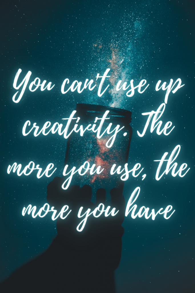 more creative